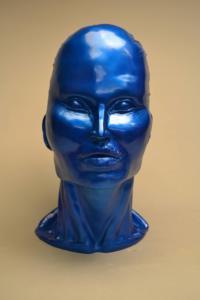head blue